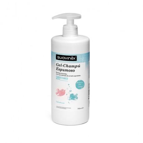 Suavinex gel champu espumoso 750 ml
